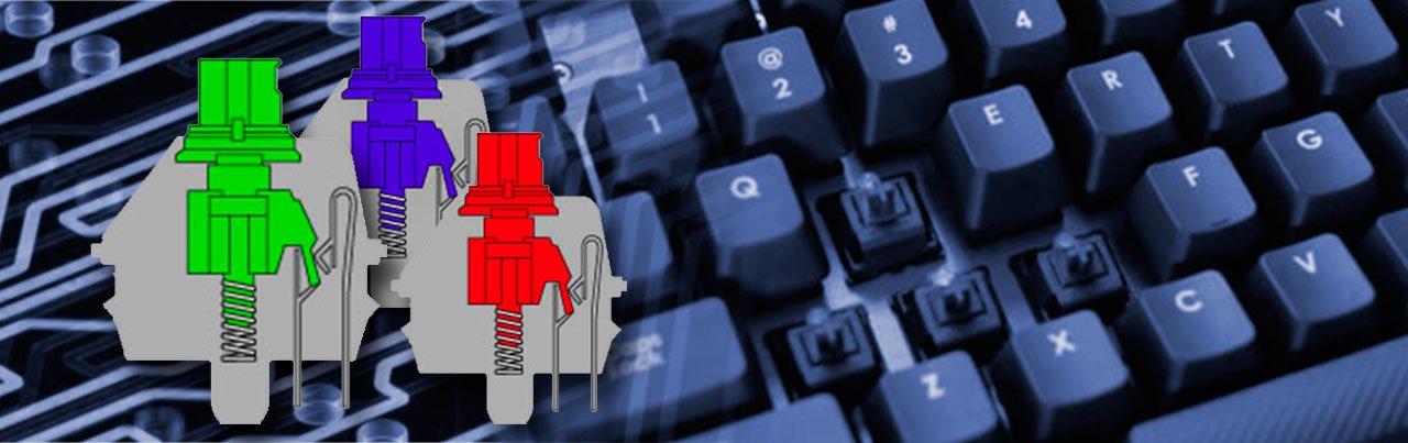 teclado mecanico y teclado de membrana switch 3