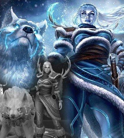 skadi la diosa del invierno destacada