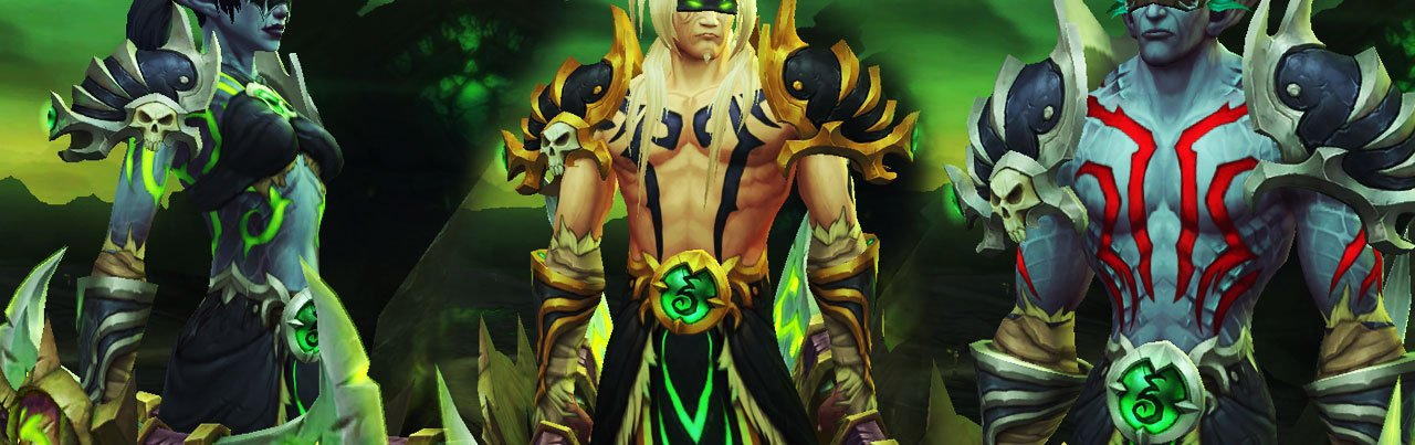 cazadores de demonios blood elf night elf tatuajes