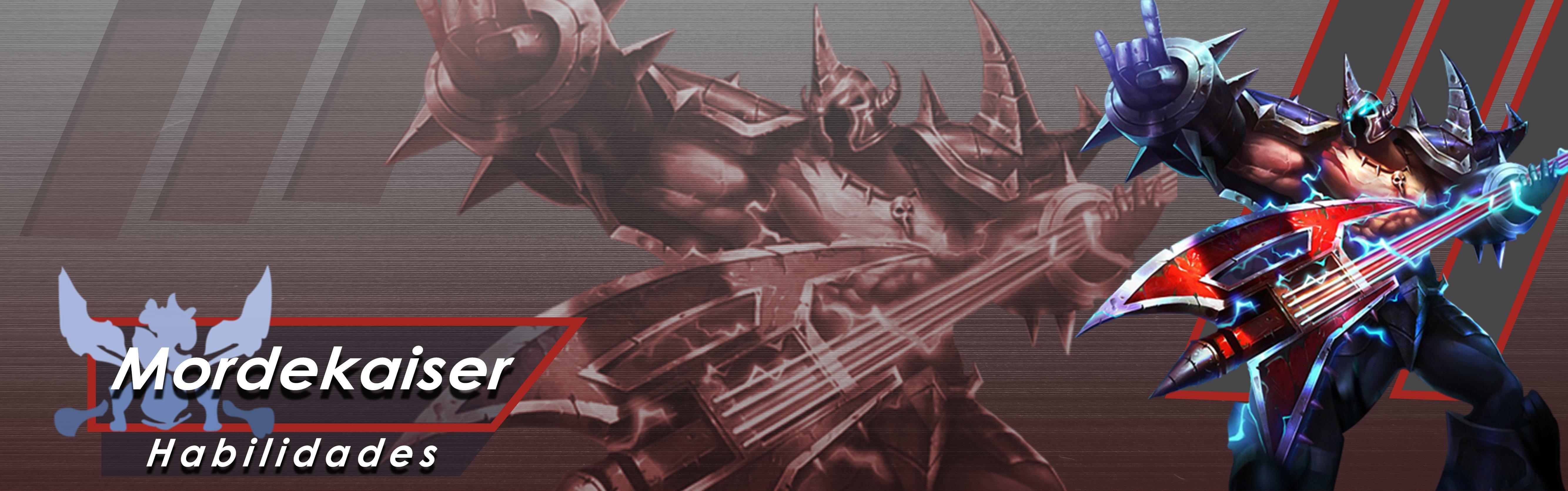 Guía De Campeón Mordekaiser Gamercitymagazine